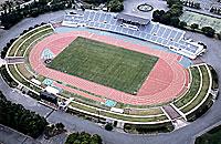 陸上合宿は、松本陸上競技場